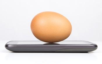 Smartphone wie iPhone im vergleich mit einem EI