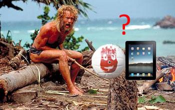 Tablet wie iPad, erleichtert ihren Altag